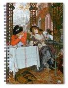 A Luncheon Spiral Notebook