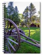 A Mabry Morning Spiral Notebook
