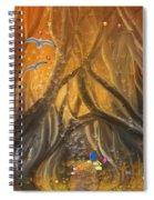 A Magical Dream In A Forest Spiral Notebook
