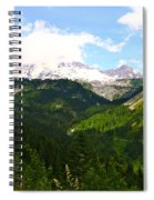 A Majestic View  Spiral Notebook
