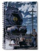 A Man And His Machine Spiral Notebook