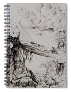 A Man Of Sorrows Spiral Notebook