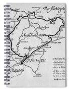 A Map Of The Nurburgring Circuit Spiral Notebook