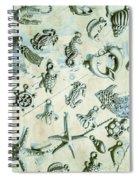A Maritime Design Spiral Notebook