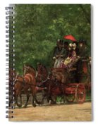 A May Morning In The Park Spiral Notebook