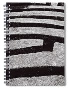 A Maze Spiral Notebook