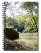 A Medina River Morning Spiral Notebook