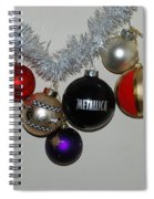 A Metallica Xmas Spiral Notebook