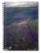 A Midwestern Landscape Spiral Notebook