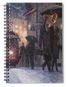 A Midwinter Night's Dream Spiral Notebook