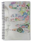 A Modern Drug Spiral Notebook