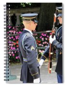 Face To Face During The Changing Of The Guard Spiral Notebook