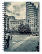 A Moment In Southwark, London. Spiral Notebook
