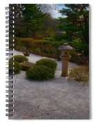A Moment In The Garden Spiral Notebook