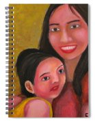 A Moment With Mom Spiral Notebook