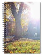 A Morning In Fall Spiral Notebook