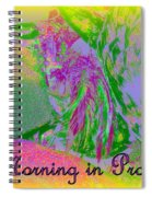 A Morning In Provence Spiral Notebook