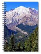 A Morning View Spiral Notebook