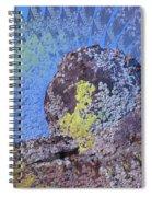 A Mossy Rock  Spiral Notebook