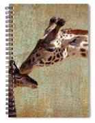 A Mother's Kiss Spiral Notebook