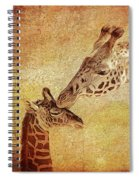 A Mother's Kiss Painted 2 Spiral Notebook