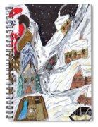A Mountain Village Spiral Notebook