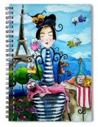 A Moveable Feast Spiral Notebook