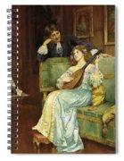 A Musical Interlude Spiral Notebook