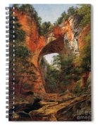 A Natural Bridge In Virginia Spiral Notebook