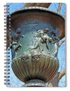 A Navy Yard Urn In Lafayette Square -- West Spiral Notebook