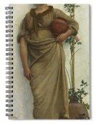 A Neapolitan Flower Seller, 1883  Spiral Notebook