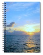 A New Dawn At Sea Spiral Notebook