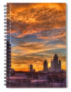 A New Day Atlantic Station Sunrise Spiral Notebook