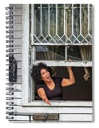 A New Orleans Greeting Spiral Notebook