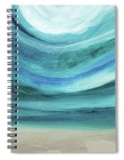 A New Start Wide- Art By Linda Woods Spiral Notebook