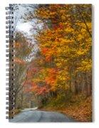 A Newport Autumn Spiral Notebook