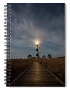 A Night At Bodie Island Lighthouse Spiral Notebook