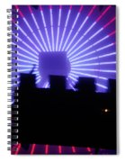 A Night At Santa Monica Pier Spiral Notebook