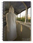 A Nun In A Monastery  Spiral Notebook