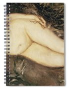A Nymph By A Stream Spiral Notebook