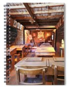 A One Room Schoolhouse Of Old Tucson, Tucson, Arizona Spiral Notebook