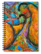 A Pair Spiral Notebook
