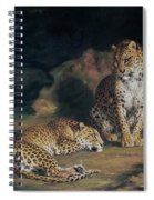 A Pair Of Leopards Spiral Notebook