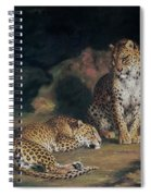 A Pair Of Leopards Spiral Notebook