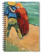 A Pair Of Lovers Spiral Notebook