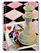 A Pair Of Queens Spiral Notebook