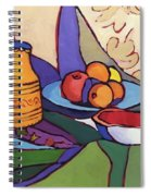 A Palette Of Shapes And Colors Spiral Notebook