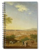 A Panoramic View Of Florence From Bellosguardo Spiral Notebook