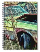 A Parted Out Mustang Spiral Notebook
