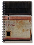 A Past Time Of Enjoyment Spiral Notebook